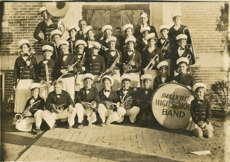 1932 Bellville High School Band