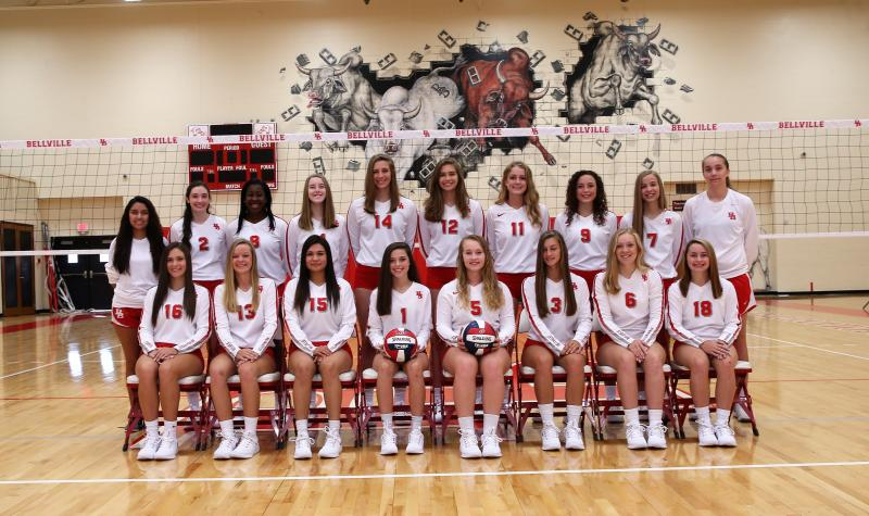 2018 Brahmanettes Volleyball